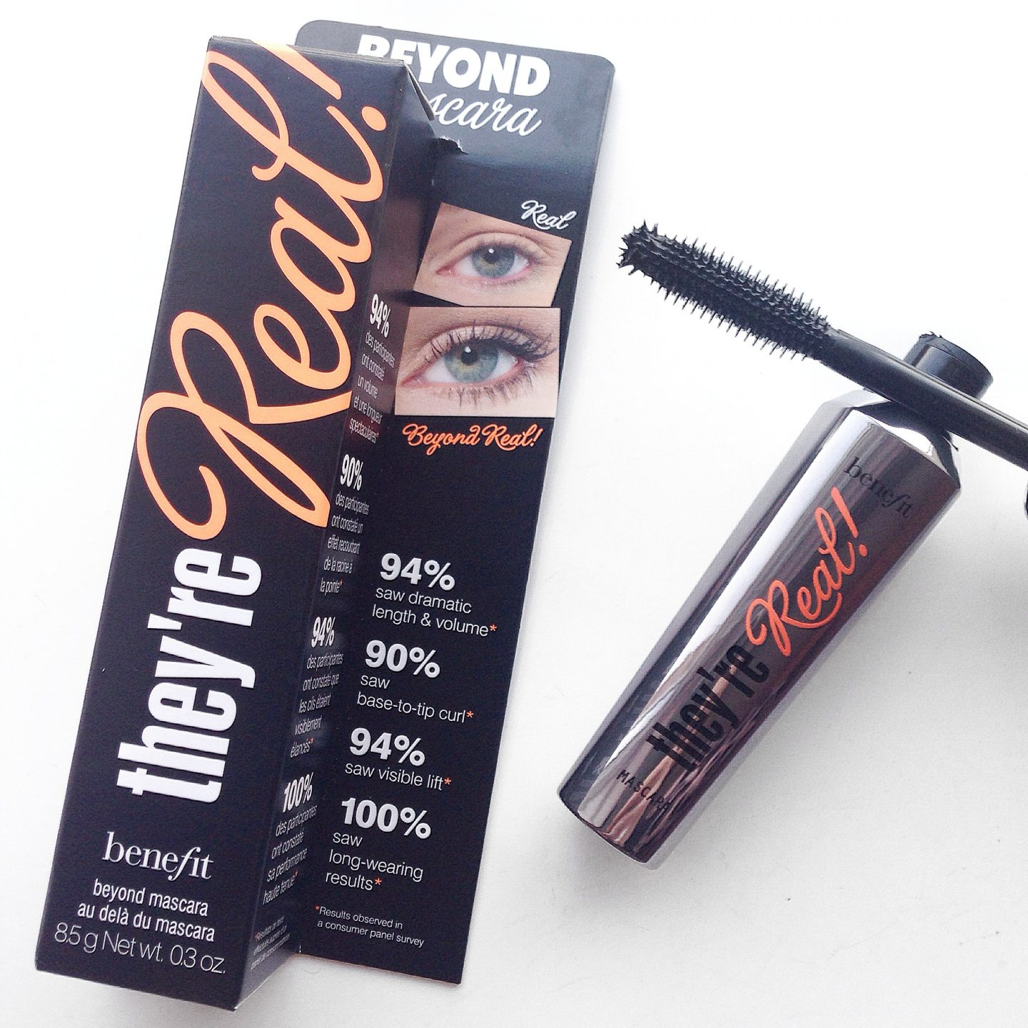 Testing Benefit They're Real Mascara