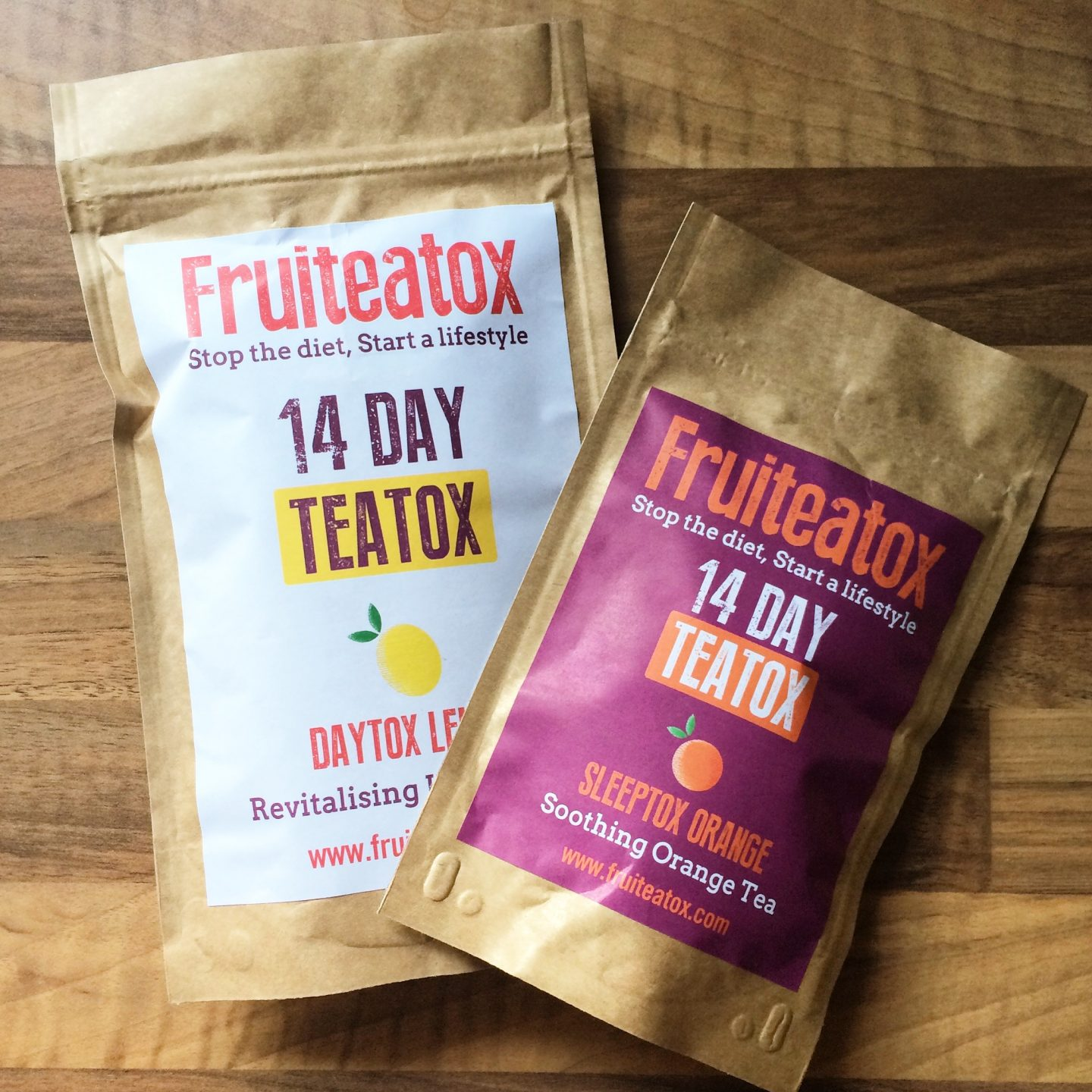 My 14 Day Teatox With Fruiteatox