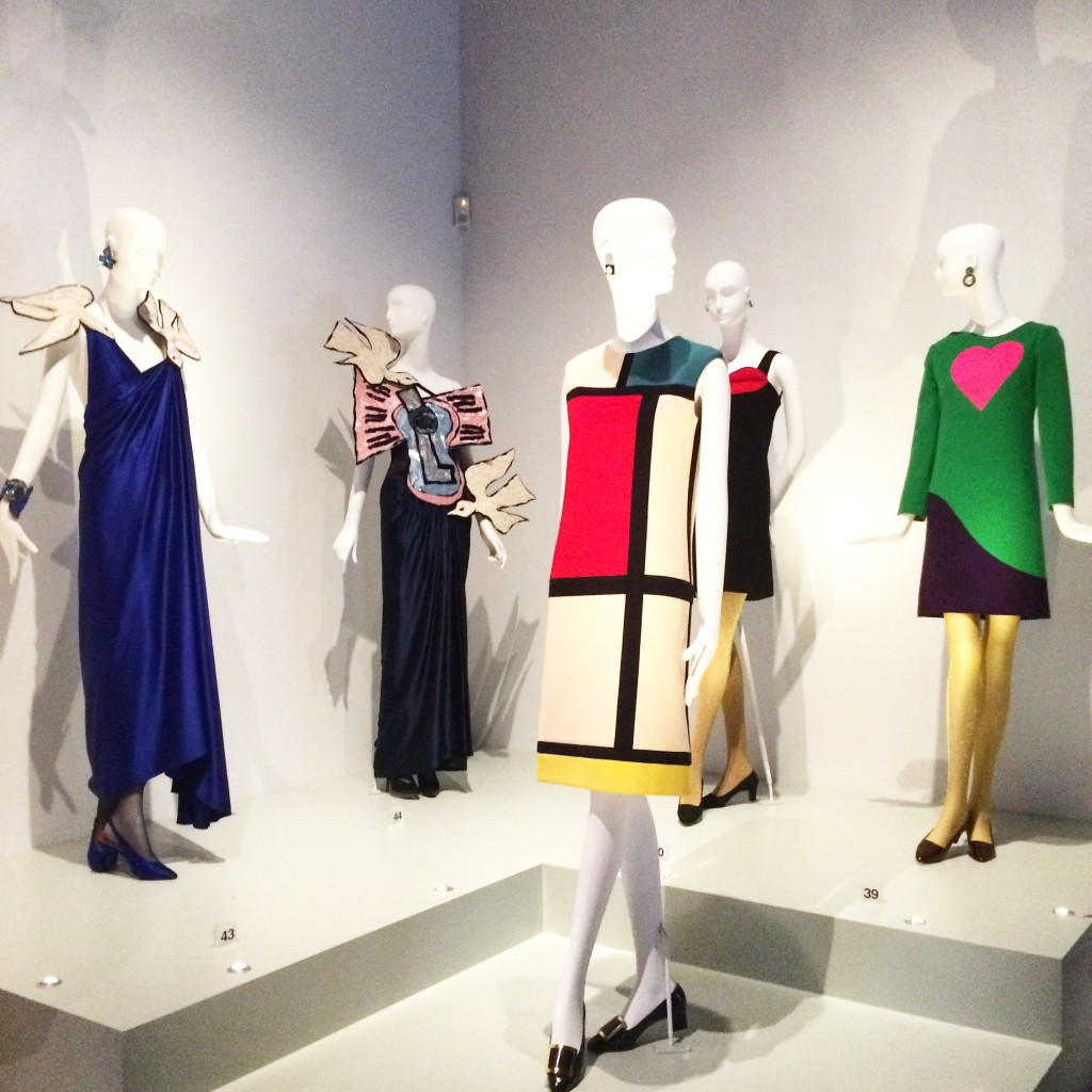 YSL Exhibition at The Bowes Museum, Barnard Castle
