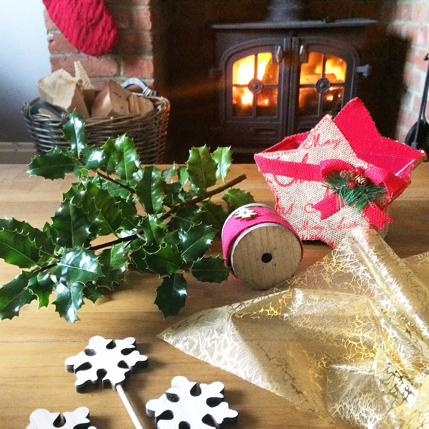 Lifestyle | Christmas Crafts With Oasis Home & Hobby