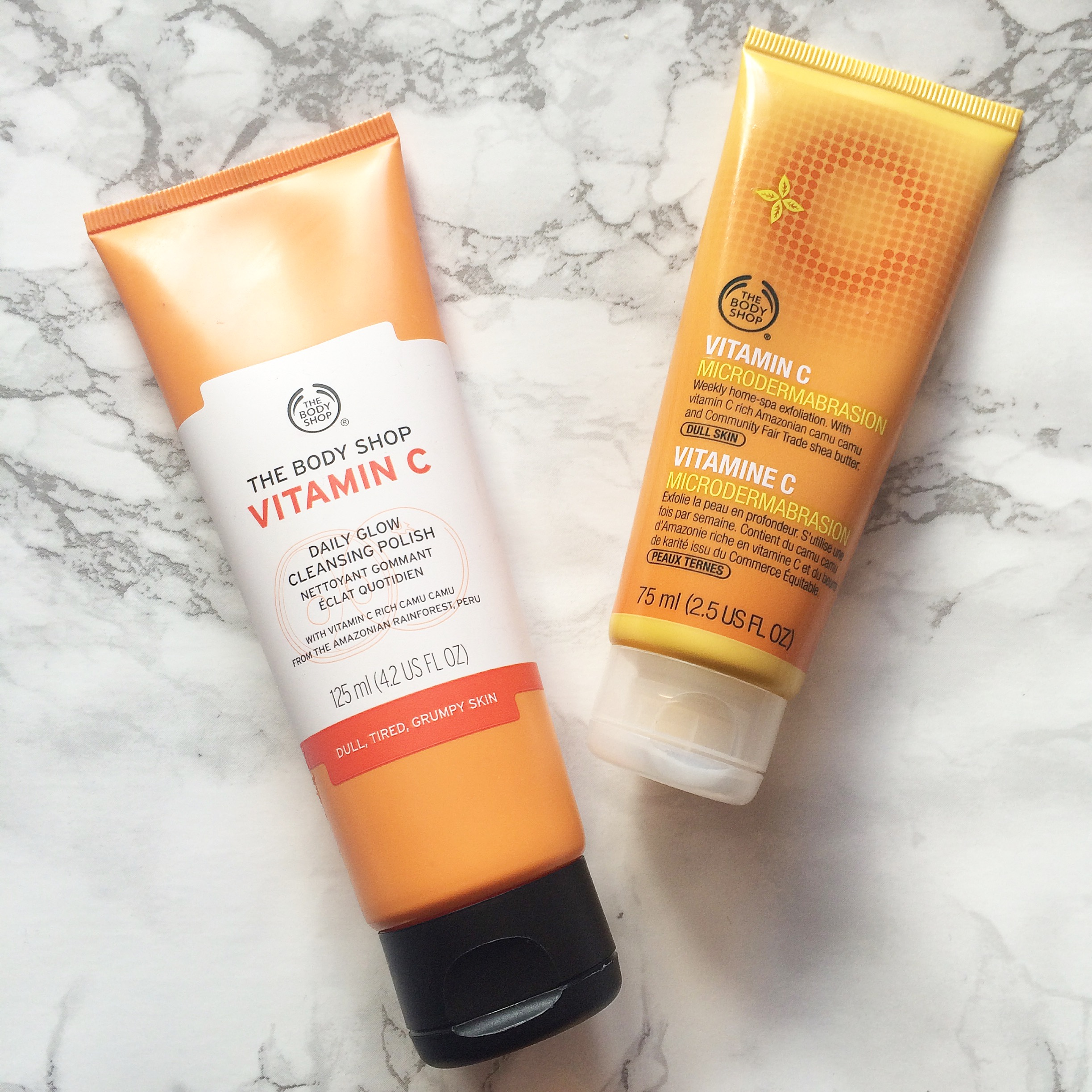 The Body Shop Vitamin C Cleansers Plain Sarah Jayne