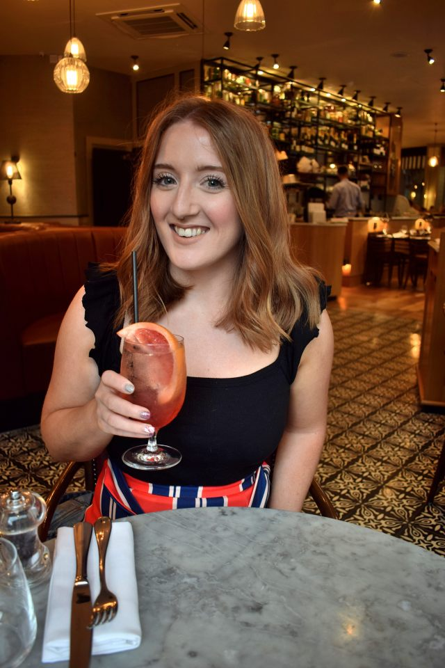 A Perfect Mate Date Over A Pampelle Spritz At Cote Brasserie