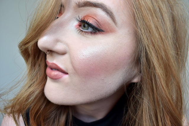 Burnt Orange With Urban Decay Heat Palette