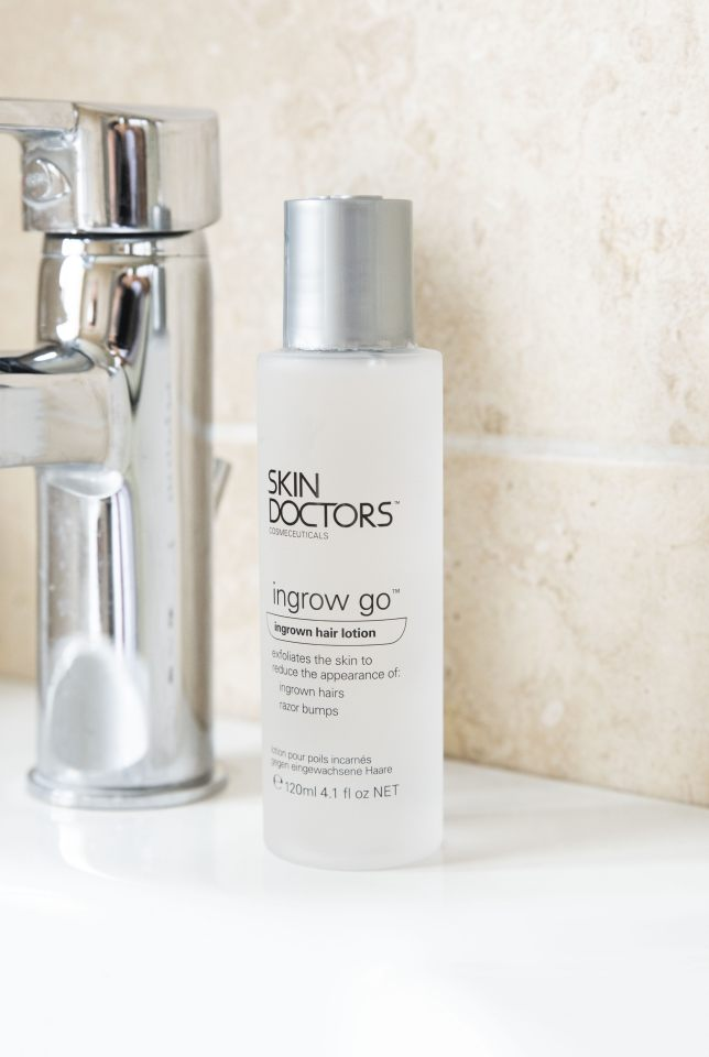 Ingrown Hair Solutions With Skin Doctors Ingrow Go